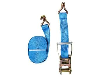 1 x 50mm 15 metre RATCHET LASHING STRAPS MBL 5T Tie Down Claw Hook trailer truck